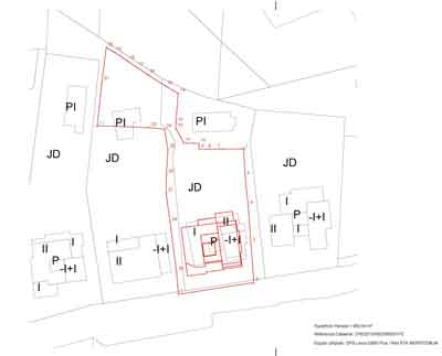 stamped land survey certificate in Murcia